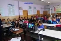 Întâlniri interactive între polițiștii brăileni și elevi