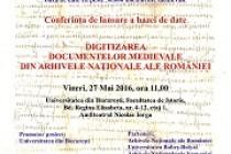 S-a lansat baza de date www.arhivamedievala.ro