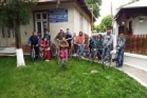 Ziua sportului sărbătorită la Ianca printr-o drumeție cu bicicleta