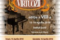 """Concursul Naţional de Pian """"Virtuozii"""", ediţia a VIII-a, Brăila, 15-16 aprilie 2016"""