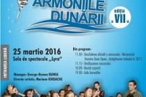 """Concursul Naţional de Muzică Uşoară pentru Copii """"Armoniile Dunării"""" ediţia a VII-a, Brăila, 25 martie 2016"""