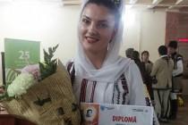 Nicoleta Ghelase, elevă a Şcolii Populare de Arte Vespasian Lungu Brăila, a obţinut locul doi la Festivalul de Folclor de la Târgoviște