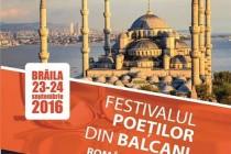 Programul FESTIVALULUI POEŢILOR DIN BALCANI, ediţia a X-a Poeţi români şi turci