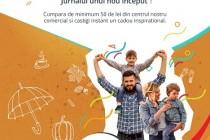 Centrul Comercial Auchan Galați: Toamna sosește cu Bucuria unui nou început împreună