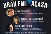 """Trei absolvenţi celebri ai Şcolii Populare de Arte """"Vespasian Lungu"""" Brăila vor oferi, pe 26 aprilie 2018, momente de neuitat."""