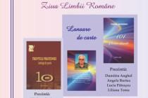 """De Ziua Limbii Române are loc lansarea cărților """"Treptele prieteniei – Antologie de poezie"""" și """"101 sonete absurde"""" de Vasile Mandric."""
