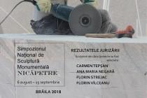 """Deschiderea simpozionului național de sculptură monumentală """"Nicăpetre"""" - Brăila 2018"""