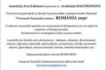 """Simpozionul Național """"Vizionarii Neamului nostru"""", ediția I, Craiova, 3 noiembrie 2018"""