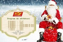 Poșta Româna: Programul de lucru în perioada sărbătorilor de iarnă 2018-2019