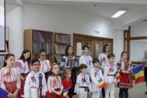 Spectacol de cântece și poezii patriotice, susținut de copiii din grupa de cateheză de la Parohia