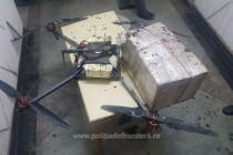 Contrabandă cu drona la frontiera cu Republica Moldova