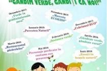 """Povestea naturii, activitate din cadrul proiectului educațional """"Gândim verde, gândiți ca noi!"""""""