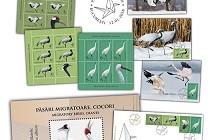 Emisiune filatelică Păsări migratoare Cocori