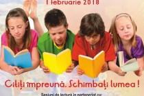 Citim Împreună România - trei sesiuni de lectură la bibliotecă