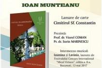 Prof. Ioan Munteanu, lansare de carte și omagiere la Biblioteca Județeană Brăila