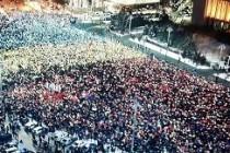 Mare miting în București. Și la Brăila s-a ieșit în stradă