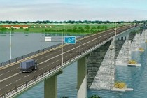 Contractul pentru proiectarea și construcția podului rutier peste Dunăre, de la Brăila, a fost semnat