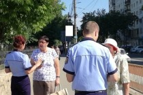 Marţi, poliţiştii vorbesc femeilor în cadrul campaniei de mesaje preventive