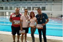 Polițiștii brăileni au participat la campionatul de înot al MAI