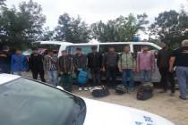 Zece cetățeni pakistanezi şi indieni încercau să intre ilegal în România din Ucraina
