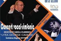 Concert vocal-simfonic de exceptie al Filarmonicii
