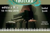 """Concursul """"Virtuozii"""", ediția a X-a, recital de pian și acordean în deschidere"""
