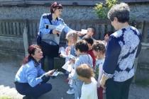 Mesaje preventive: Dacă e luni, poliţiştii vorbesc copiilor