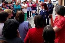 Campanie de presă - Dacă e marţi, poliţiştii vorbesc femeilor