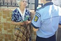 """Dacă e miercuri, poliţiştii vorbesc persoanelor vârstnice - campania """"100 DE ZILE DE MESAJE PREVENTIVE"""""""