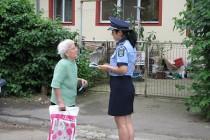 Campanie mesaje preventive: Dacă e miercuri, poliţiştii vorbesc persoanelor vârstnice