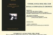 Lansarea cărții Gropeni-istoria modernă a unui sat de baltă (1828-1918), autor Ștefan Aftodor