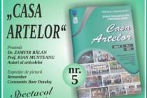 Lansarea numărului cinci al Publicaţiei anuale Casa Artelor