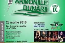 """Până pe 12 martie 2018 se fac înscrieri la Concursul Naţional de Muzică Uşoară pentru Copii """"ARMONIILE DUNĂRII"""" Brăila, ajuns la cea de-a noua ediţie"""