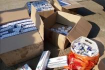 100.000 ţigarete de contrabandă descoperite după percheziţiile domiciliare din Brăila