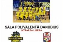 Meci de baschet masculin la Polivalentă: CS Cuza Sport Braila și CN Aurel Vlaicu București