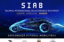 Salonul internațional de automobile București (SIAB), 23 martie-1 aprilie 2018