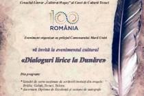 Dialoguri lirice la Dunăre. La biblioteca Panait Cerna Tulcea