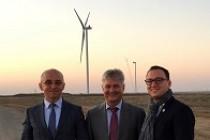 Ucraina: inaugurarea parcului eolian Novotroickoe