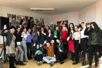 """Elevii de la Liceului Pedagogic """"D.P. Perpessicius"""", Brăila implicați în campania de combatere a violenței împotriva femeilor"""