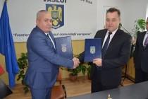Întâlnire de lucru româno-moldoveană, la Huşi