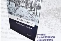 """Paula Gurău lansează volumul de proză scurtă """"Picătura de suflet"""" apărut la editura InfoEST"""