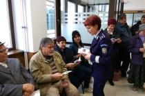 Ziua internațională a persoanelor vârstnice marcată de polițiști și jandarmi