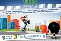 """Campania națională """"Verde la educație pentru circulație"""" 2018"""