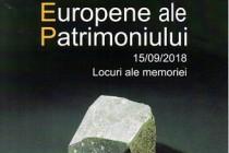 Zilele Europene ale Patrimoniului, ediţia a XXVI-a, Brăila, 2018