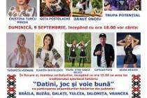 Ziua comunei Salcia Tudor, județ Brăila, 8-9 septembrie 2018