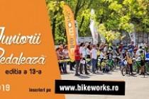 """""""Juniorii pedalează"""" - ediţia a 13-a.Concurs de contratimp pe bicicletă pentru copii în municipiul Galați"""