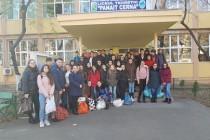 """Acțiune de voluntariat organizată și desfășurată de elevii și profesorii de la Liceul Teoretic """"Panait Cerna"""" Brăila"""