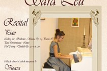 Muzeul Brăilei găzduiește un recital de pian și un colaj de cântări și colinde interpretate la vioară, mandolină și chitară de eleva Sara Leu