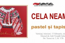 Vernisajul expoziției de pastel și tapiserie semnată Cela Neamţu la Muzeul de Artă Vizuală Galați