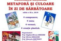 METAFORĂ ȘI CULOARE ÎN ZI DE SĂRBĂTOARE EDIȚIA a IX- a, 2018 – 2019